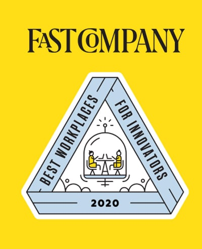 Logotipo do prêmio da Fast Company
