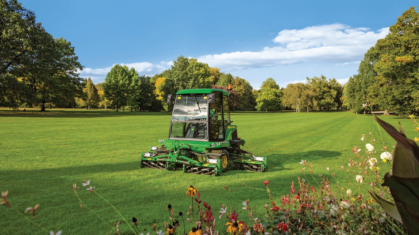Wide Area Rotary Mowers